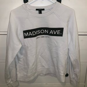 ✰graphic sweatshirt f21 ✰